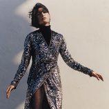 vestido cruzado con pedrería de Rodarte para & Other Stories