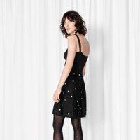 Little black dress con lunares de Rodarte para & Other Stories