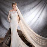 Vestido Orsa de la colección Pronovias 2017