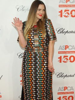 Drew Barrymore en 19th Annual ASPCA Bergh Ball