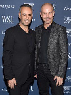Francisco Costa e Italo Zuccelli , directores creativos de Calvin Klein
