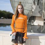 Chiara Ferragni durante la presentación de la colección de Louis Vuitton en la Fashion Week Paris