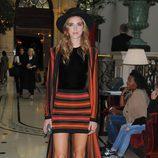 Chiara Ferragni durante la presentación de la colección de Balmain en la Fashion Week Paris