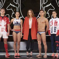 stella McCartney, Tom Daley y más deportistas en la presentación del uniforme para el equipo olímpico británico de Rio 2016