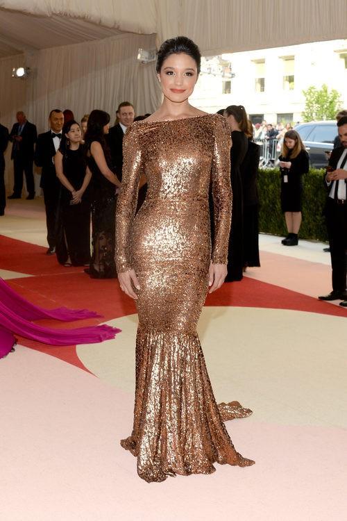 Rachel Smith en la alfombra roja de la Gala Met 2016