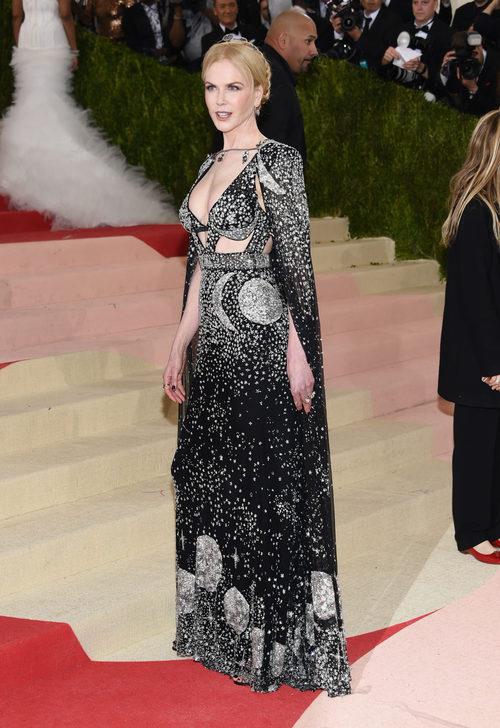 Nicole Kidman en la alfombra roja de la Gala Met 2016