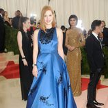 Jessica Chastain en la alfombra roja de la Gala Met 2016