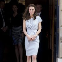 Kate Middleton con un vestido de Roksanda Ilincic en la inauguración de 'The Magic Garden'