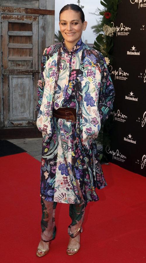 Laura Ponte en la fiesta 'Flower Power'  en Barcelona