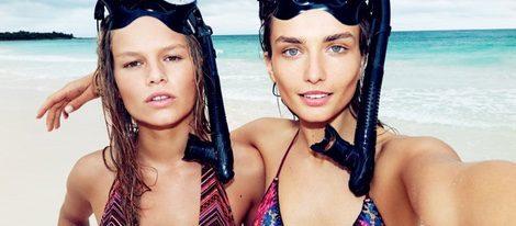 Andreea Diaconu y Anna Ewers  modelos de la nueva colección de H&M