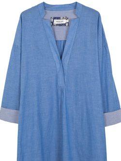 Vestido azul de la nueva colección verano 2016 de Indi&Cold