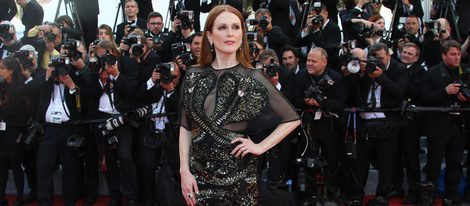 Julianne Moore en la alfombra roja del Festival de Cannes 2016