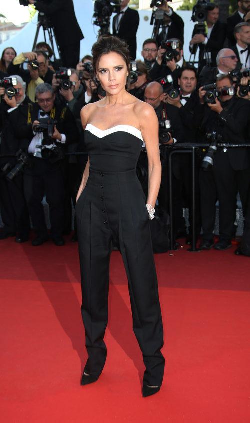 Victoria Beckham en la alfombra roja del Festival de Cannes 2016
