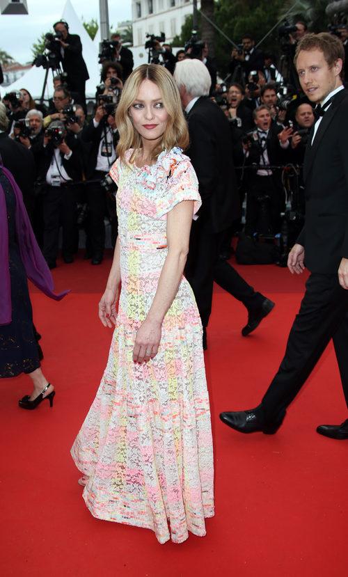Vanessa Paradis en la alfombra roja del Festival de Cannes 2016