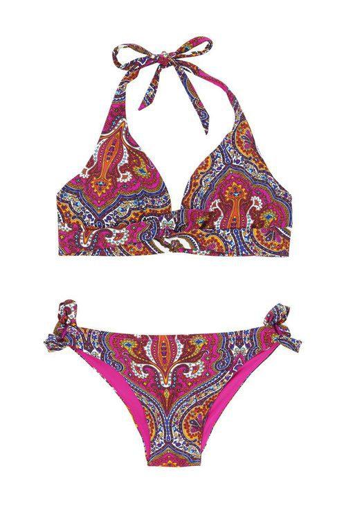 Bikini Tsigane de la nueva colección de verano en Etam 2016