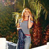Patricia Conde camiseta marinera en la nueva colección de 'Pati Conde by Dandara'