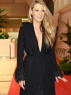 Blake Lively en una fiesta de bienvenida en el Festival de Cannes 2016