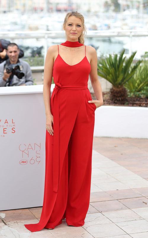 Blake Lively en  el Festival de Cannes 2016