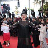 Rossy de Palma en la alfombra roja de Cannes 2016