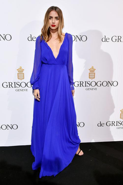 Ana de Armas en la fiesta de Grisogono en el Festival de Cannes 2016