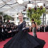 Helen Mirren en premier de 'The unknown girl' Cannes 2016