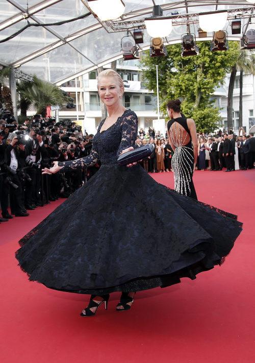 Helen Mirren en premier de 'The unknown girl' Cannes 2016