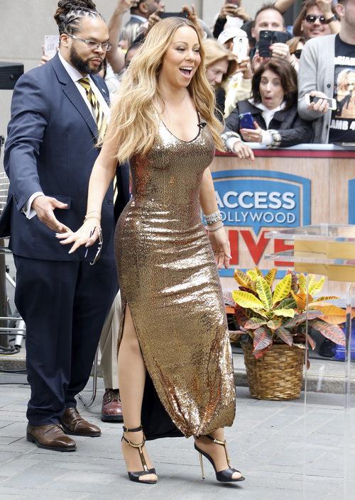 Mariah Carey en un evento en Nueva York