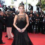 Mischa Barton con un vestido de Georges Hobeika en el estreno de 'Loving' en Cannes 2016