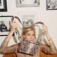 Camille Charriére imagen de la colección de verano de Uterqüe