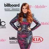 Meghan Trainor en la alfombra roja de los Premios Billboard 2016.
