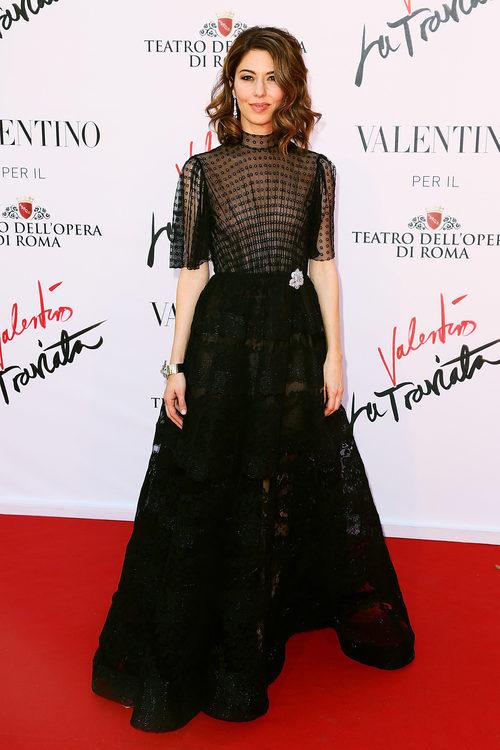 Sofia Coppola en el estreno de 'La Traviata'