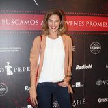 Laura Sánchez con un look casual en la final del Volapie Flamenco Tour en Madrid
