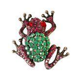 Broche de pedrería en forma de rana de la colección de verano 2016 de Lola Casademunt