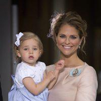 La Princesa Magdalena de Suecia con su hija Leonor de Suecia calzando unas Pretty Ballerinas