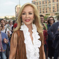 Carmen Lomana en el concierto de Paul McCartney en Madrid