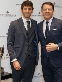 Esteban Granero la nueva imagen de la marca de relojes Baume & Mercier