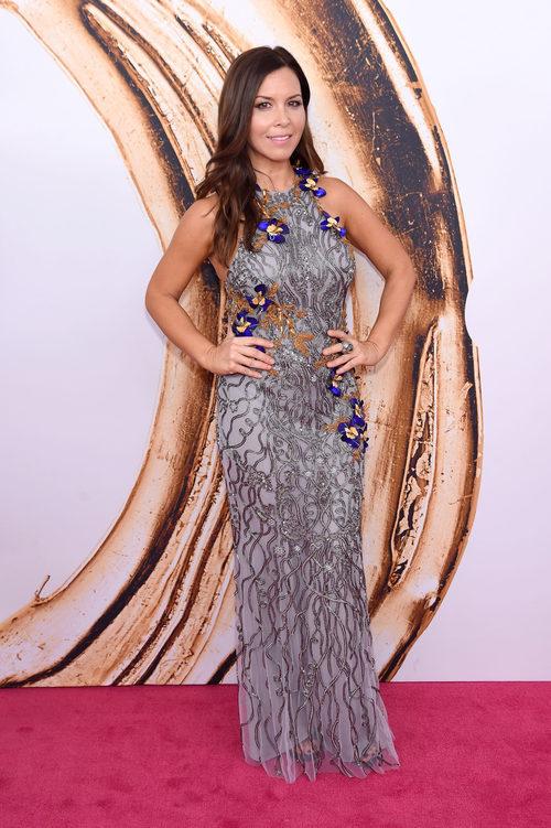 Monique Lhuillier en la alfombra roja de los Premios CFDA Fashion 2016