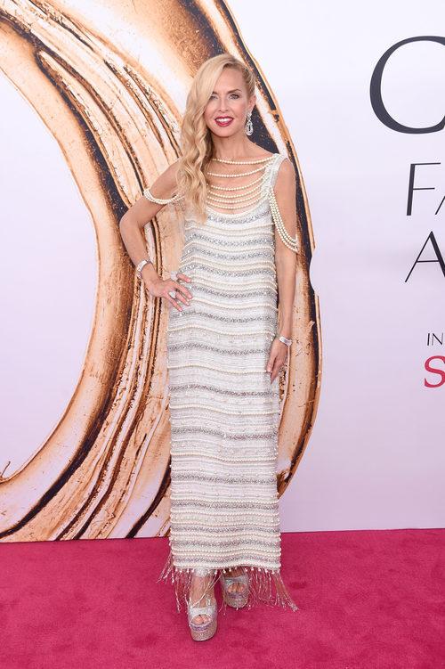 Rachel Zoe en la alfombra roja de los Premios CFDA Fashion 2016