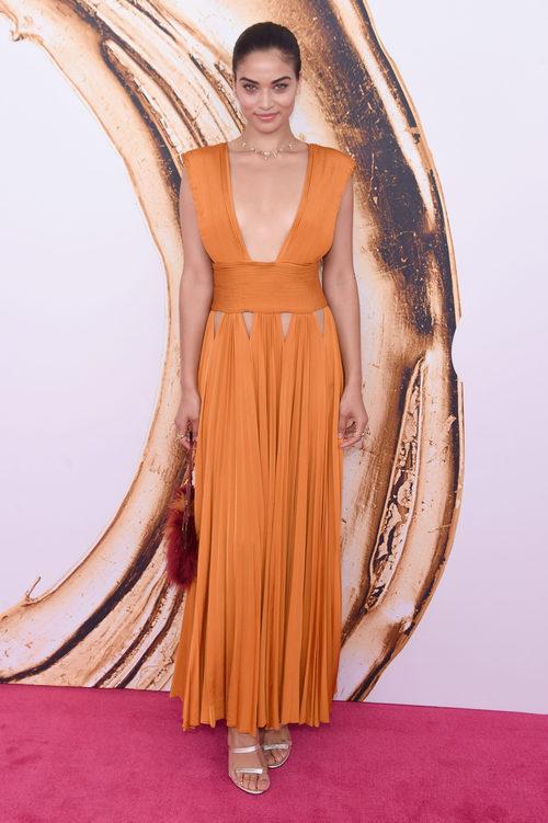 Shanina Shaik en la alfombra roja de los Premios CFDA Fashion 2016