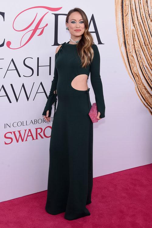 Olivia Wilde en la alfombra roja de los Premios CFDA Fashion 2016