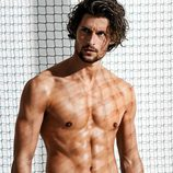 Wouter Peelen con un bañador corto para la nueva colección Summer de Calzedonia 2016