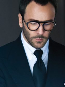 Tom Ford con un diseño de montura para la nueva colección TOM FORD Private Eyewear Collection 2016