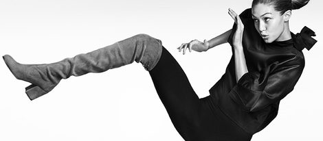 Gigi Hadid se transforma en la nueva imagen de la colección Otoño 2016 de Stuart Weitzman