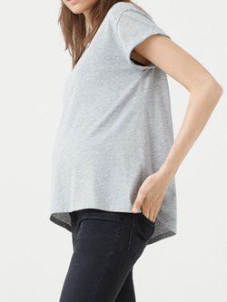 Jeans tiro medio de la nueva colección Maternity 2016 para Mango