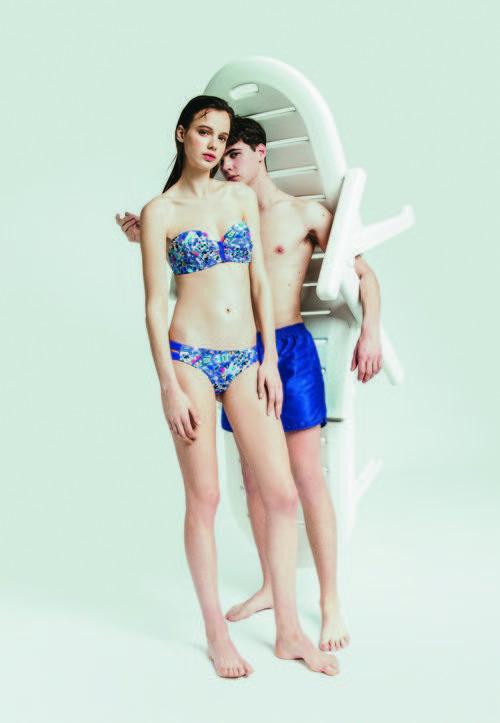 Modelos sexy para la nueva campaña 'Swim color' para este verano 2016 de Oysho