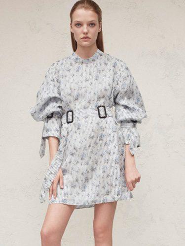 Diseño vestido bombacho para la nueva colección femenina Pre-Spring 2017 de Calvin Klein