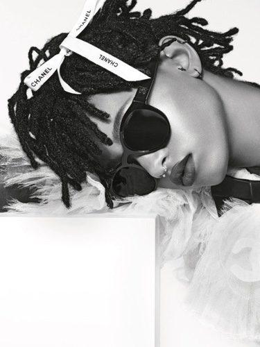 Willow Smith imagen de la nueva colección de gafas de sol 2016 de Chanel