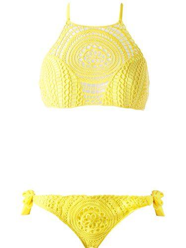 Bikini en amarillo de la temporada de verano 2016 de Calzedonia