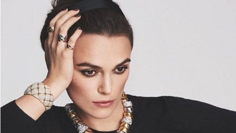 Keira Knighley, nueva imagen de joyas de Chanel