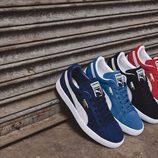 Sneakers en varios colores de la nueva colección 'Suede Forever Fresh' de Puma
